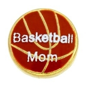 BASKETBALL MOM Charm For Lockets