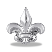 Fleur Di Lis Charm For Lockets