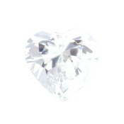 4- April Heart Birthstone Charm For Lockets