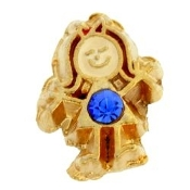 9- September Girl Birthstone Charm For Lockets
