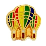 Hot Air Balloon Charm TRUNK SALE, NO FURTHER DISCOUNT