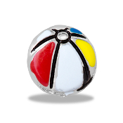 Beach Ball Charm For Lockets