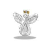 Angel Silver Charm For Lockets