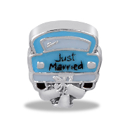 JUST MARRIED Car Charm For Lockets