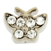 Butterfly Crystal Charm For Lockets - TRUNK SALE NO OTHER DISCOU