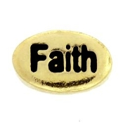 FAITH (Gold) Charm For Lockets