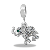 Elephant Crystal Bead by DaVinci