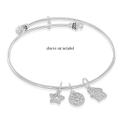 Crystal (MED) Bangle Bracelet  by DaVinci Inspirations®