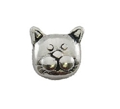 Cat Face Charm For Lockets