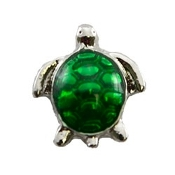 Green Sea Turtle Charm for Lockets