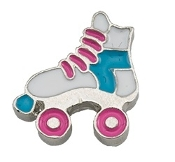Rollerskate Charm for Lockets