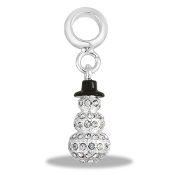 LTD EDITION - Snowman Crystal Bead By DaVinci®