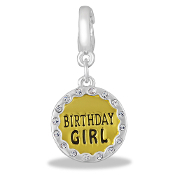 Birthday Girl Drop Accessory by Forever In My Heart® Lockets