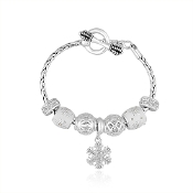 DaVinci Snowflake 2015 Ltd. Edition Holiday Bracelet