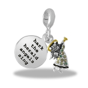 "LTD EDITION:Angel ""Hark the Herald Angels Sing"" Bead By DaVinci®"