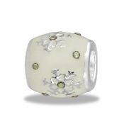 LTD Edition Snowflake Enamel Bead By DaVinci®