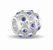 SEPTEMBER Crystal Orb Decorative Birthstone Bead by DaVinci®