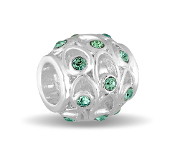 DECEMBER Crystal Orb Decorative Birthstone Bead by DaVinci®
