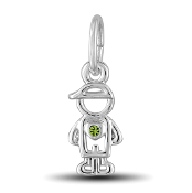 August Boy Charm by The DaVinci® Heart of Family Collection