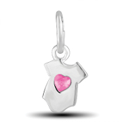 Pink Onesie Charm by The DaVinci® Heart of Family Collection