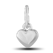 Heart Puff Charm by The DaVinci® Heart of Family Collection