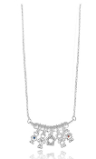 "A 18"" Bar Necklace DaVinci® Heart of Family Collection"