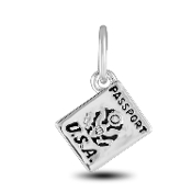 Passport Charm Bead for DaVinci Inspirations® Jewelry