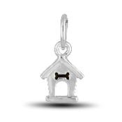 Doghouse Charm Bead for DaVinci Inspirations® Jewelry