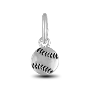 Baseball Charm Bead for DaVinci Inspirations® Jewelry