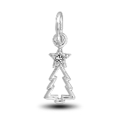 Christmas Tree Charm Bead for DaVinci Inspirations® Jewelry