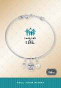 FAITH FAMILY Bracelet Pre-Designed by DaVinci Charms and Beads