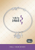 WALK BY FAITH Bracelet Pre-Designed by DaVinci Charms and Beads
