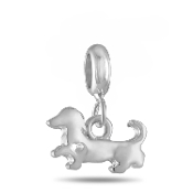 Dog Style #1 Dangle Bead for the DaVinci Collection