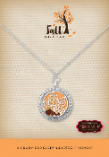 Fall Season Forever In My Heart Pre-Designed Locket