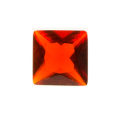 7-July Square Crystal Birthstone Charm