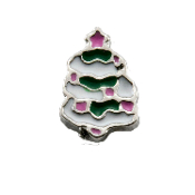 Christmas Tree Charm for Floating Oragami Owl Type Lockets