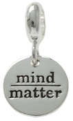 MIND over MATTER Dangle Coin Bead For The DaVinci Collection
