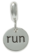 RUN Dangle Coin Bead For The DaVinci Collection