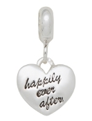 HAPPILY EVER AFTER Heart Bead For The DaVinci Collection