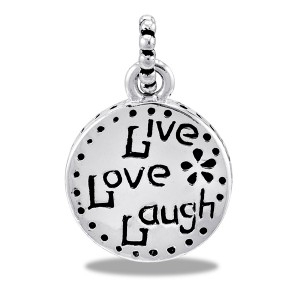 LIVE, LAUGH, LOVE Bead