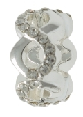 INFINITY Filigree Crystal Bead For The DaVinci Collection